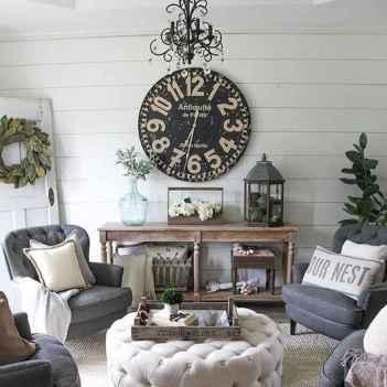 70 Elegant Modern Farmhouse Living Room Decor Ideas And Makeover (66)