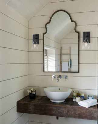 70 Farmhouse Wall Paneling Design Ideas For Living Room, Bathroom, Kitchen And Bedroom (26)
