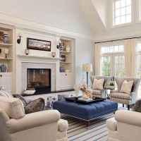 80 Elegant Furniture For Modern Farmhouse Living Room Decor Ideas (4)