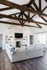 80 Elegant Furniture For Modern Farmhouse Living Room Decor Ideas (64)