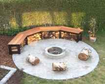 25 Creative Sunken Sitting Areas For a Mesmerizing Backyard Landscape (17)