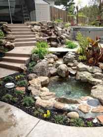 25 Stunning Backyard Ponds Ideas With Waterfalls (17)