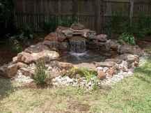25 Stunning Backyard Ponds Ideas With Waterfalls (2)