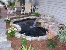 25 Stunning Backyard Ponds Ideas With Waterfalls (4)