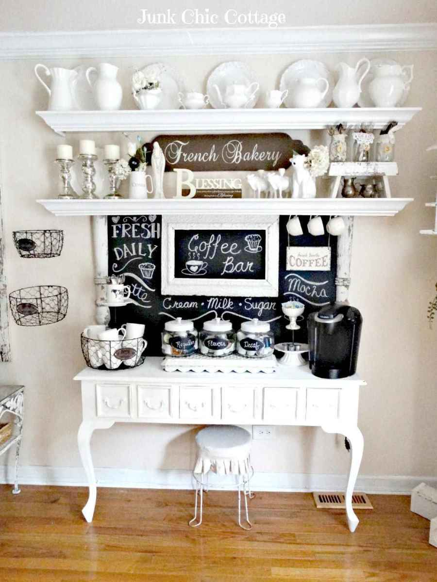 32 Awesome DIY Mini Coffee Bar Design Ideas For Your Home (18)