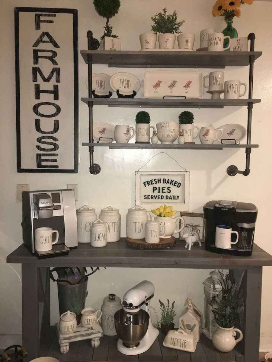 32 Awesome DIY Mini Coffee Bar Design Ideas For Your Home (19)