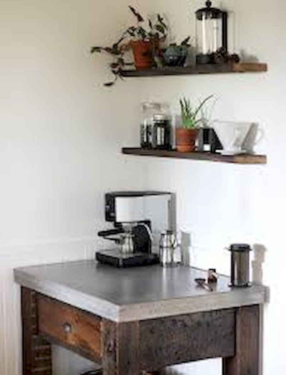32 Awesome DIY Mini Coffee Bar Design Ideas For Your Home (27)