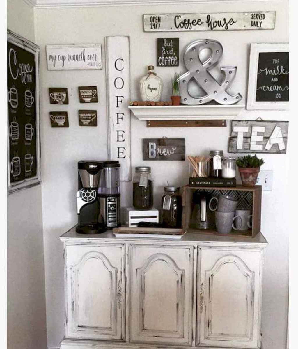 32 Awesome DIY Mini Coffee Bar Design Ideas For Your Home (4)