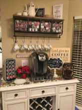 32 Awesome DIY Mini Coffee Bar Design Ideas For Your Home (7)