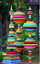 33 Awesome DIY Painted Garden Decoration Ideas for a Colorful Yard (21)