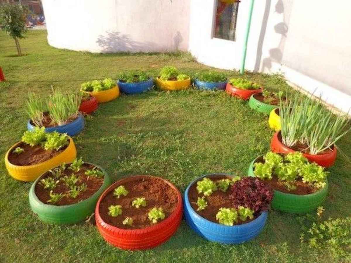 33 Awesome DIY Painted Garden Decoration Ideas for a Colorful Yard (31)