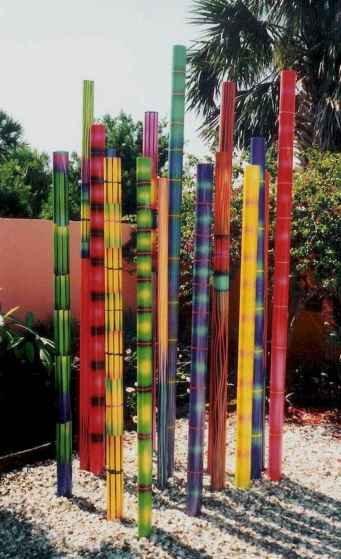 33 Awesome DIY Painted Garden Decoration Ideas for a Colorful Yard (33)