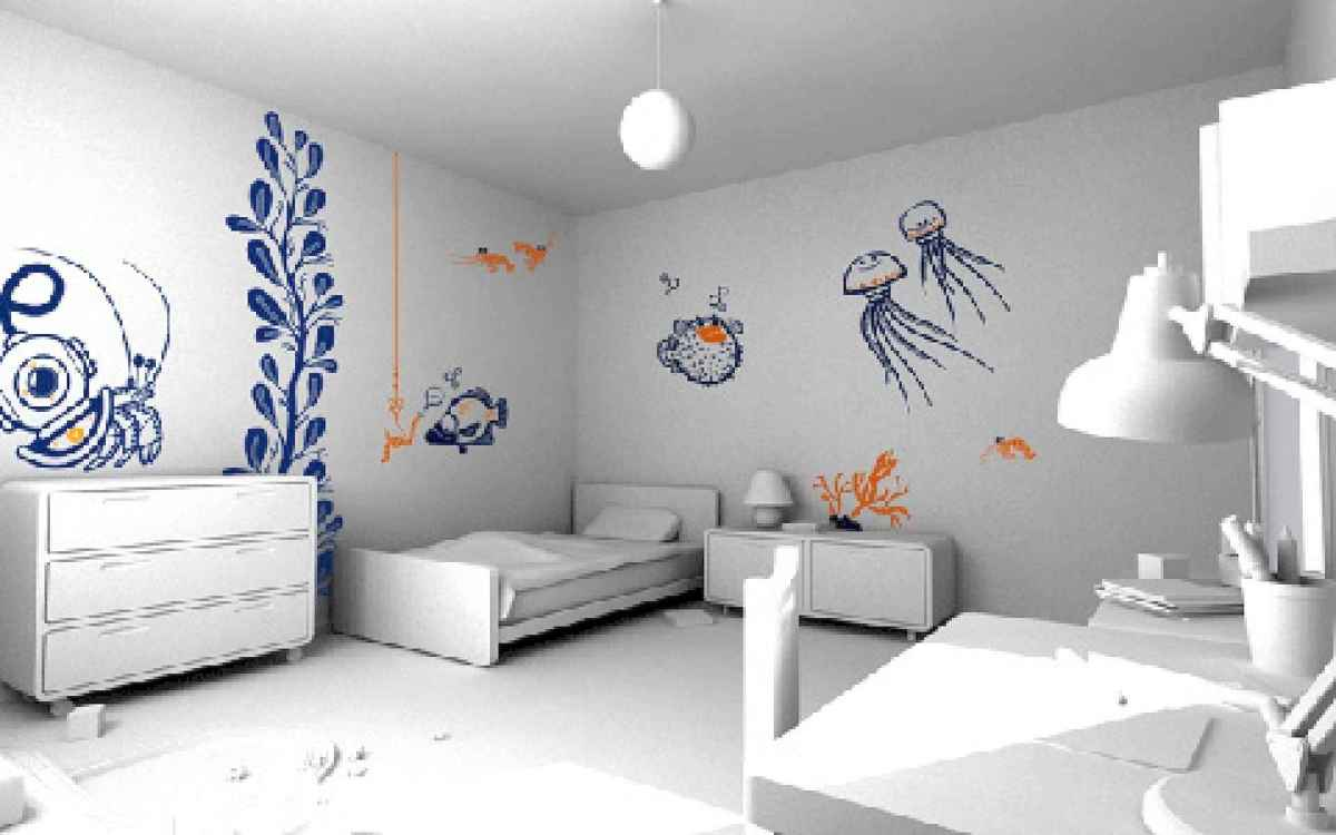 40 Awesome Wall Painting Ideas For Home (9)