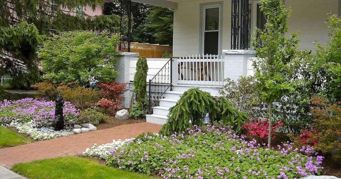 40 Inspiring Front Yard Landscaping Ideas (20)
