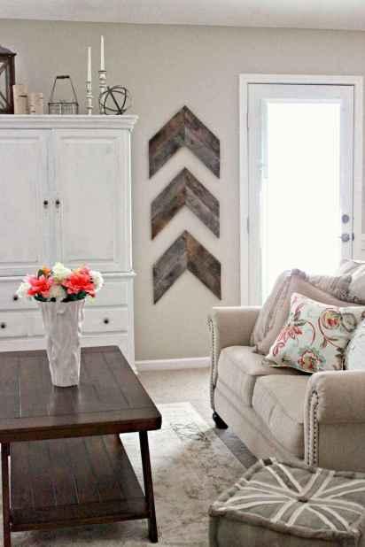 50 Rustic Farmhouse Living Room Decor Ideas (1)