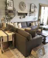 50 Rustic Farmhouse Living Room Decor Ideas (13)