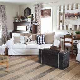 50 Rustic Farmhouse Living Room Decor Ideas (22)