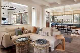 50 Rustic Farmhouse Living Room Decor Ideas (33)