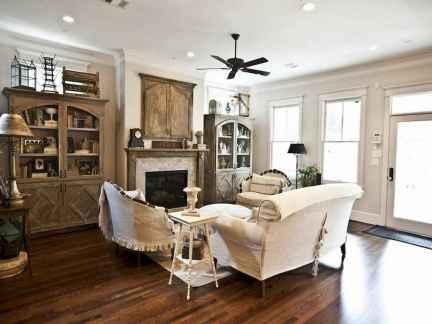50 Rustic Farmhouse Living Room Decor Ideas (38)