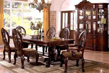 50 Vintage Dining Table Design Ideas And Decor (11)