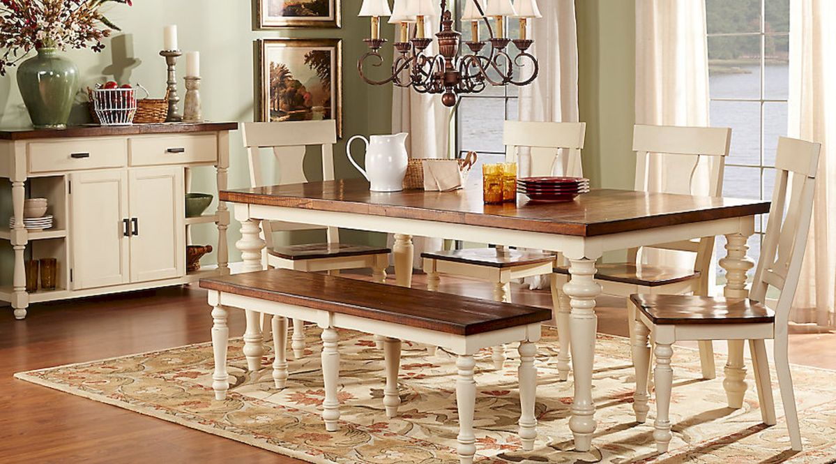 50 Vintage Dining Table Design Ideas And Decor (2)