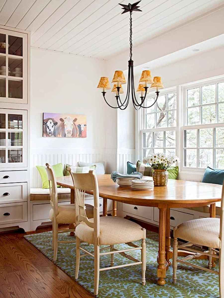 50 Vintage Dining Table Design Ideas And Decor (36)