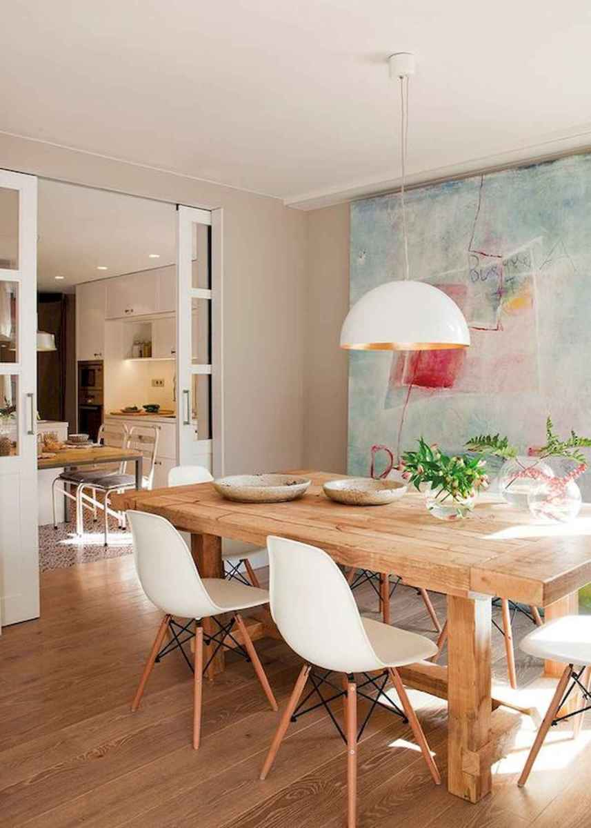 50 Vintage Dining Table Design Ideas And Decor (47)