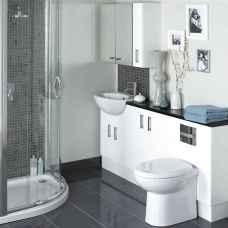 54 Amazing Small Bathroom Remodel Ideas (35)