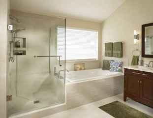 60 Master Bathroom Shower Remodel Ideas (17)