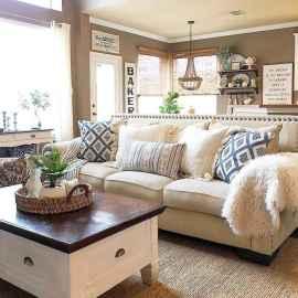 60 Modern Farmhouse Living Room Decor Ideas (18)