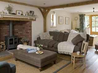 60 Modern Farmhouse Living Room Decor Ideas (20)