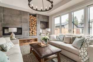 60 Modern Farmhouse Living Room Decor Ideas (21)