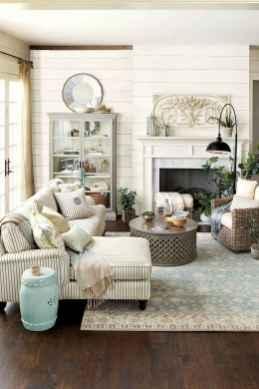 60 Modern Farmhouse Living Room Decor Ideas (25)