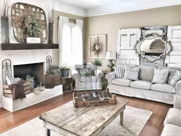 60 Modern Farmhouse Living Room Decor Ideas (28)
