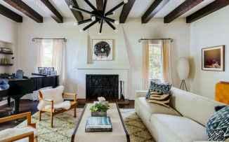 60 Modern Farmhouse Living Room Decor Ideas (40)
