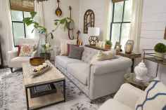 60 Modern Farmhouse Living Room Decor Ideas (45)