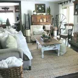 60 Modern Farmhouse Living Room Decor Ideas (50)