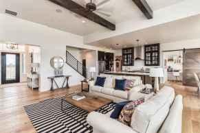60 Modern Farmhouse Living Room Decor Ideas (53)