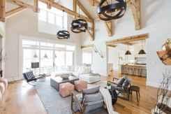 60 Modern Farmhouse Living Room Decor Ideas (56)