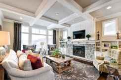 60 Modern Farmhouse Living Room Decor Ideas (57)