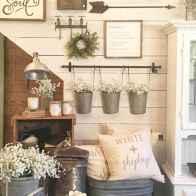 60 Stunning Farmhouse Home Decor Ideas On A Budget (12)