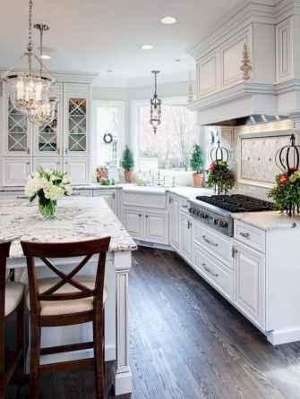 70 Luxury White Kitchen Design Ideas And Decor (10)