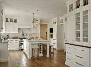 70 Luxury White Kitchen Design Ideas And Decor (38)