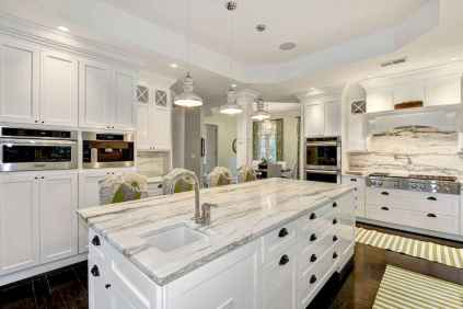 70 Luxury White Kitchen Design Ideas And Decor (43)