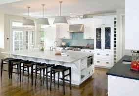 70 Luxury White Kitchen Design Ideas And Decor (48)