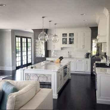 70 Luxury White Kitchen Design Ideas And Decor (50)