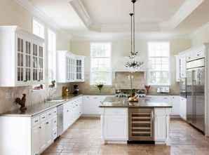 70 Luxury White Kitchen Design Ideas And Decor (60)