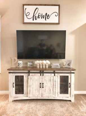 33 Best Farmhouse Living Room TV Stand Design Ideas (1)