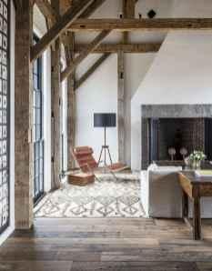 33 Farmhouse Living Room Flooring Ideas (28)