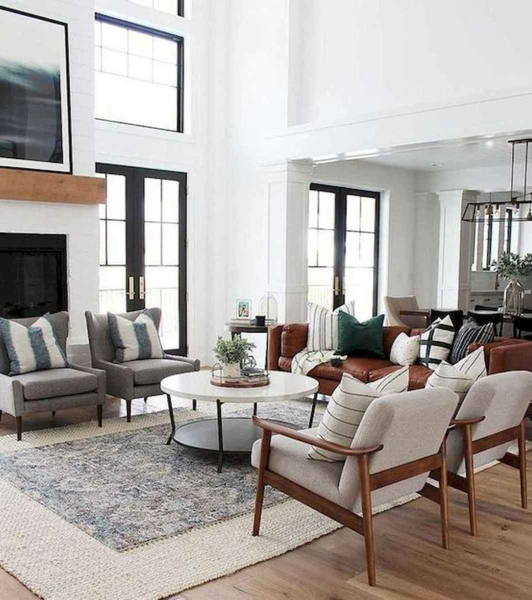 33 Farmhouse Living Room Flooring Ideas (6)